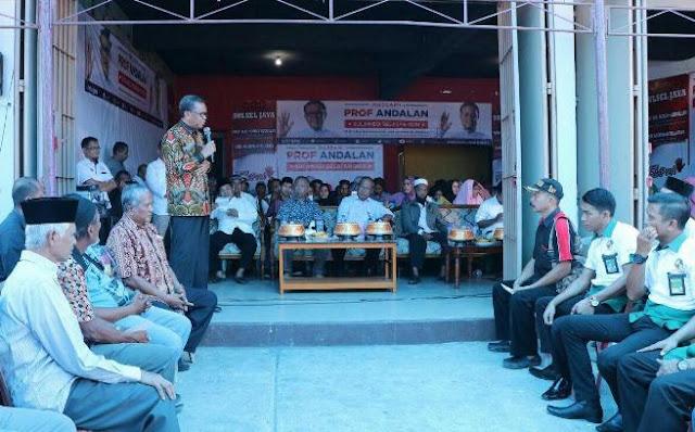 Nurdin Abdullah Resmikan Posko Pemenangan di Soppeng
