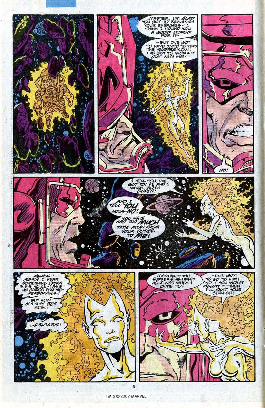 Read online Silver Surfer (1987) comic -  Issue #20 - 10
