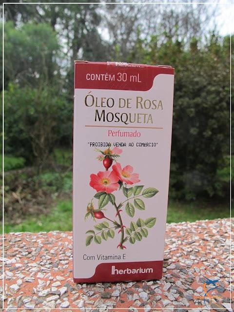 Óleo de Rosa Mosqueta Perfumado da Herbarium