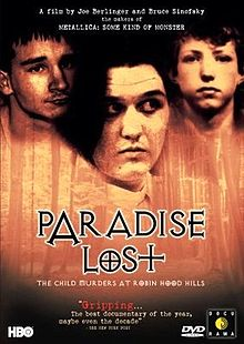 Paradise Lost the child murders at Robin Hood Hills movie poster