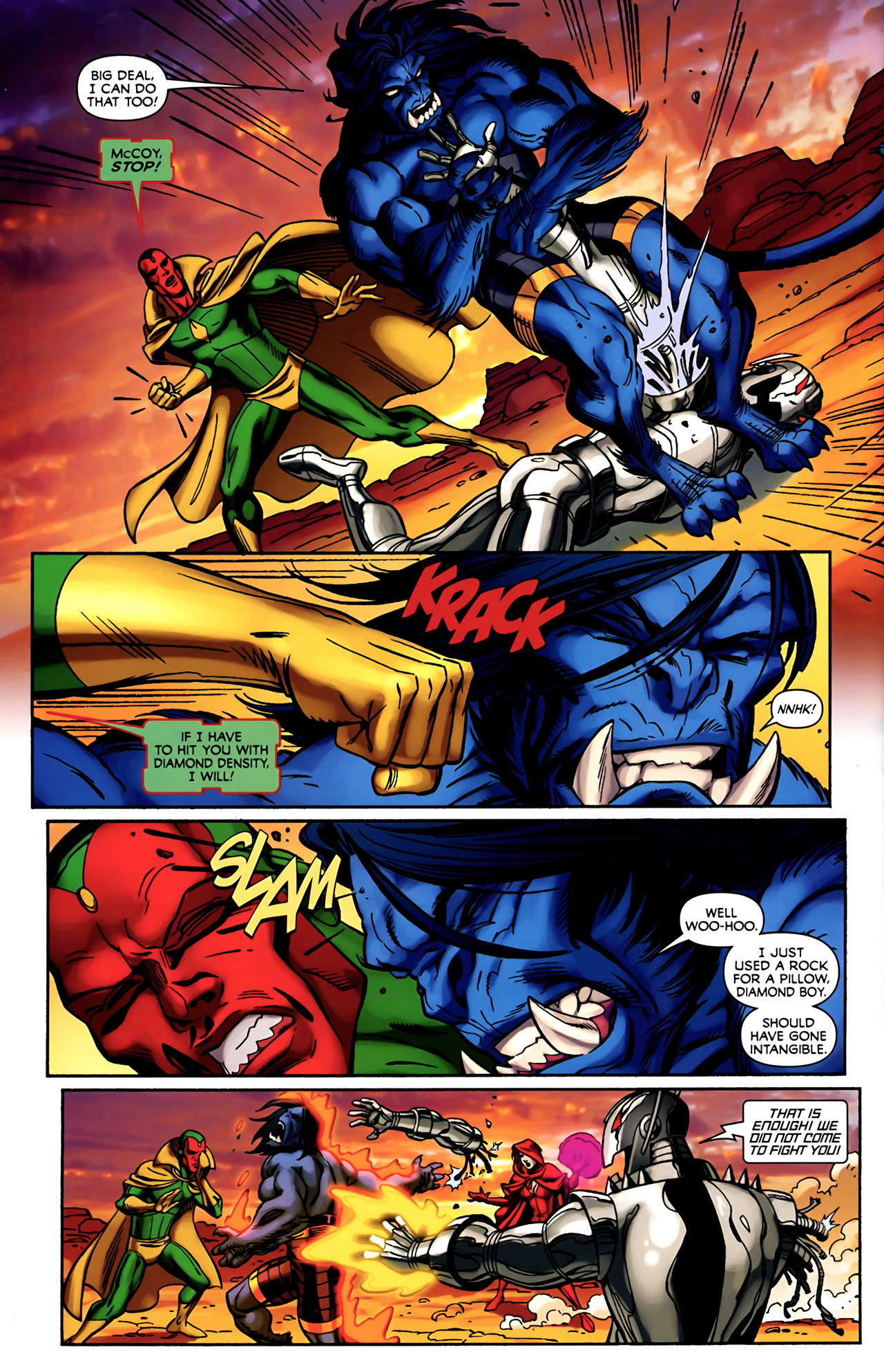 Read online Exiles (2009) comic -  Issue #4 - 18