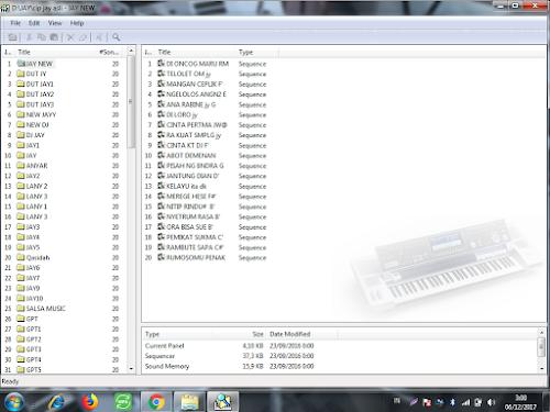 tutorial memasukan file sequencer atau song keyboard technics kn2400/2600 memakai sd explorer kn7000