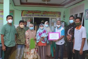 Penyerahan Bantuan Langsung Tunai Dana Desa Tahap 9