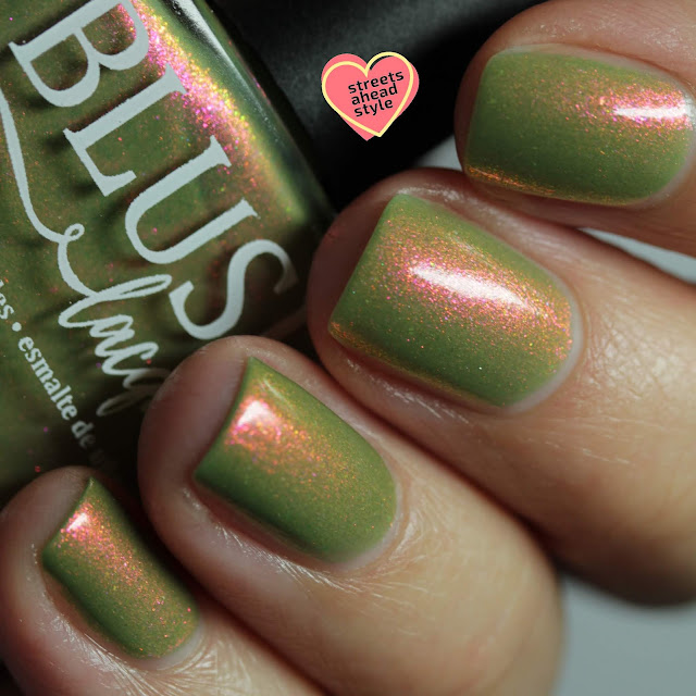 BLUSH Lacquers Vanora Horizon swatch by Streets Ahead Style