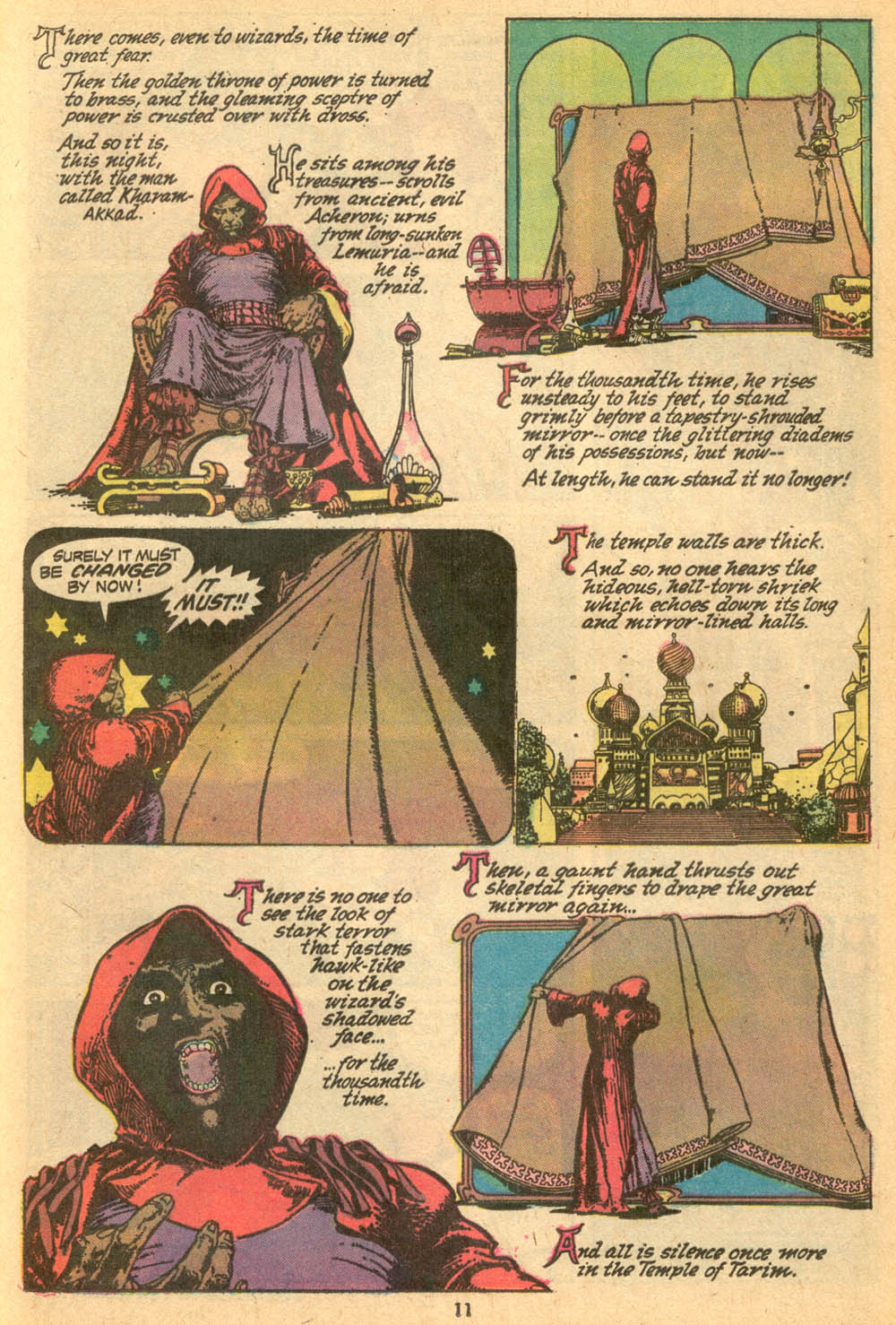 Conan the Barbarian (1970) Issue #24 #36 - English 9