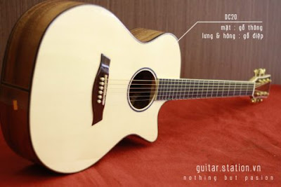 Bán Cây Đàn Guitar Acoustic DC-20 giá 3 triệu 4