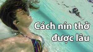 Cách thở dưới nước
