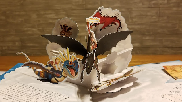 dreamworks dragons pop up book
