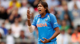 Jhulan Goswami Becomes the 1st woman in the World to take 200 Wickets in ODI