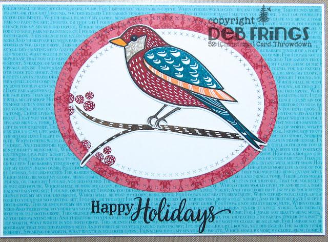 Happy Holidays - photo by Deborah Frings - Deborah's Gems