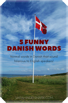 Pinterest image for 5 Funny Danish Words