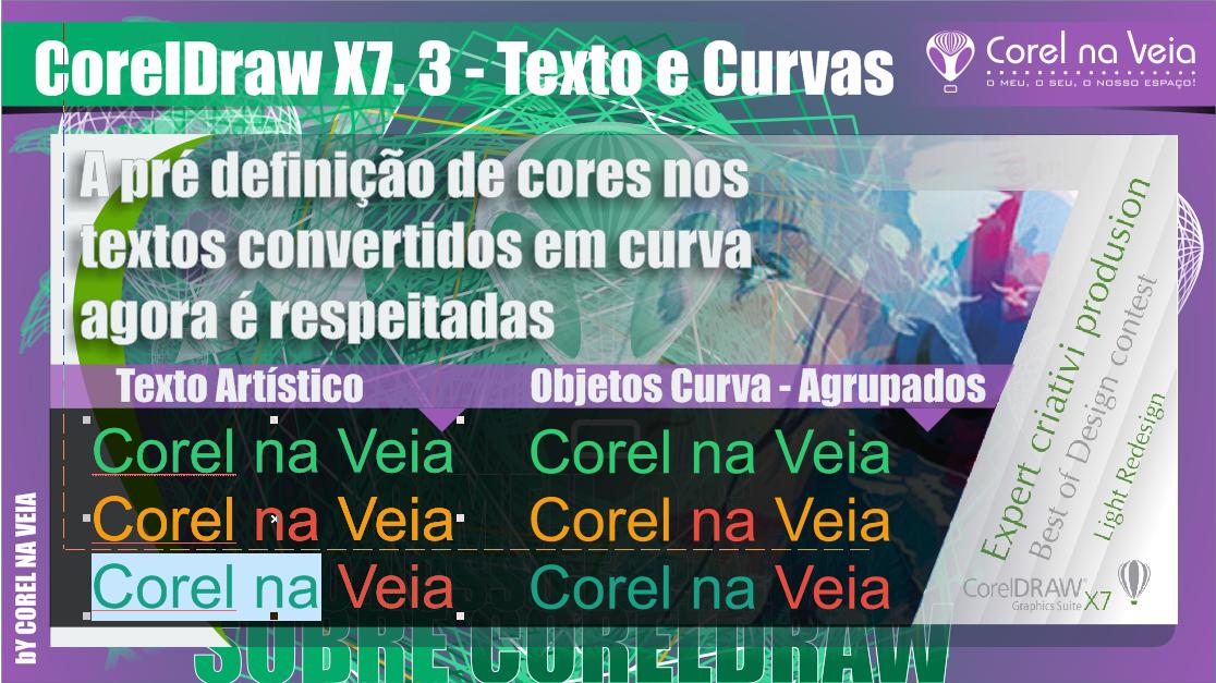 CorelDRAW Graphics Suite X7 - Update 3 Disponível