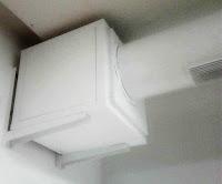 Foto caja Motor de extracción