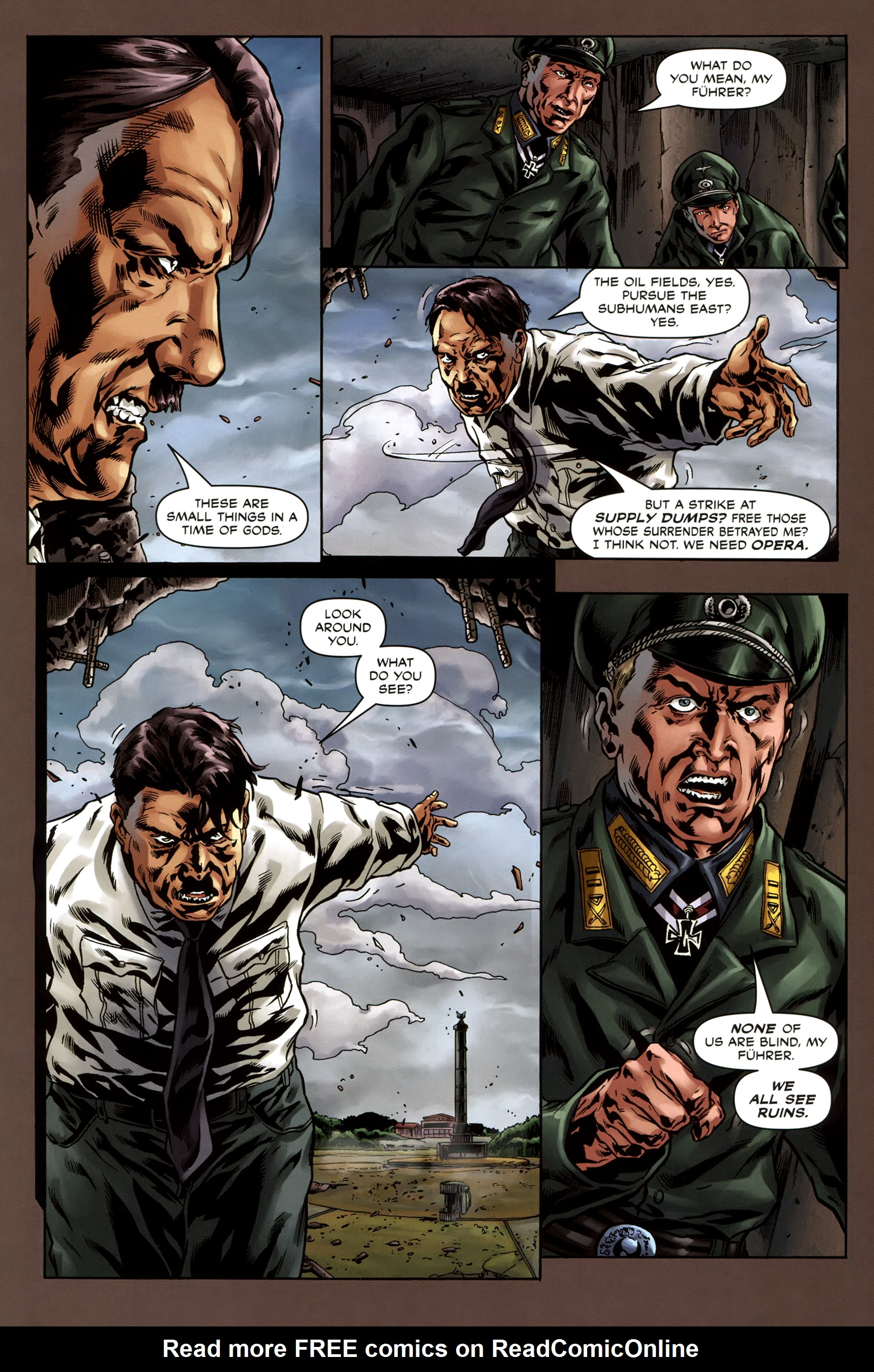 Read online Uber comic -  Issue #3 - 26