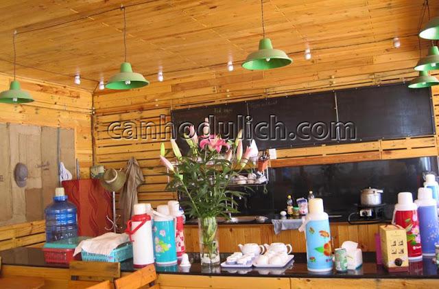 Villa có phục vụ café trong khuôn viên