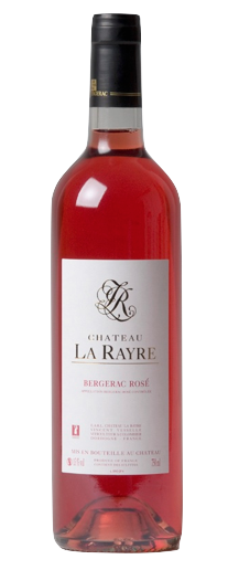 chateau la rayre bergerac rose bottle shot