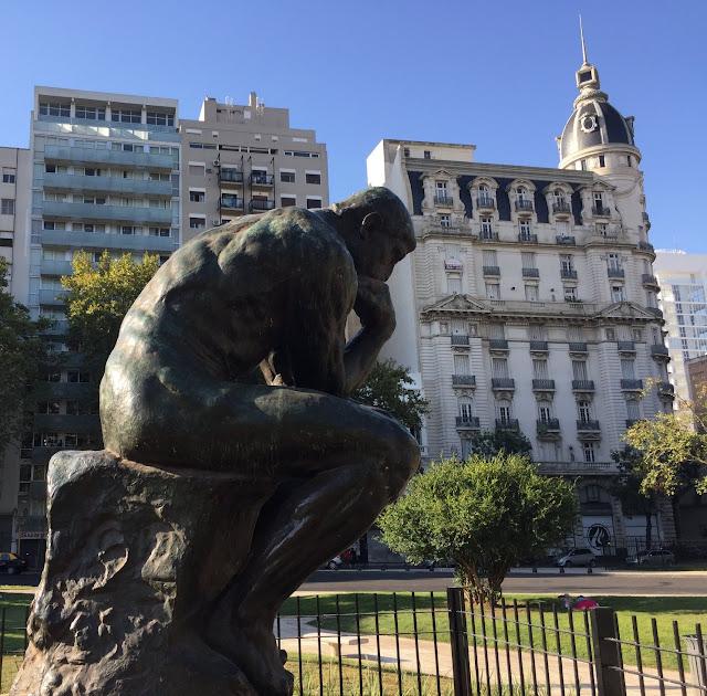 El Pensador by Rodin
