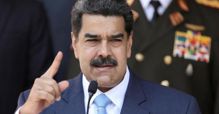 Estados Unidos ofrece recompensa de 15 millones por el arresto de Nicolás Maduro