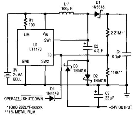 easy dc to dc converter circuit diagram