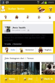 Facebook Mod Tema Naruto
