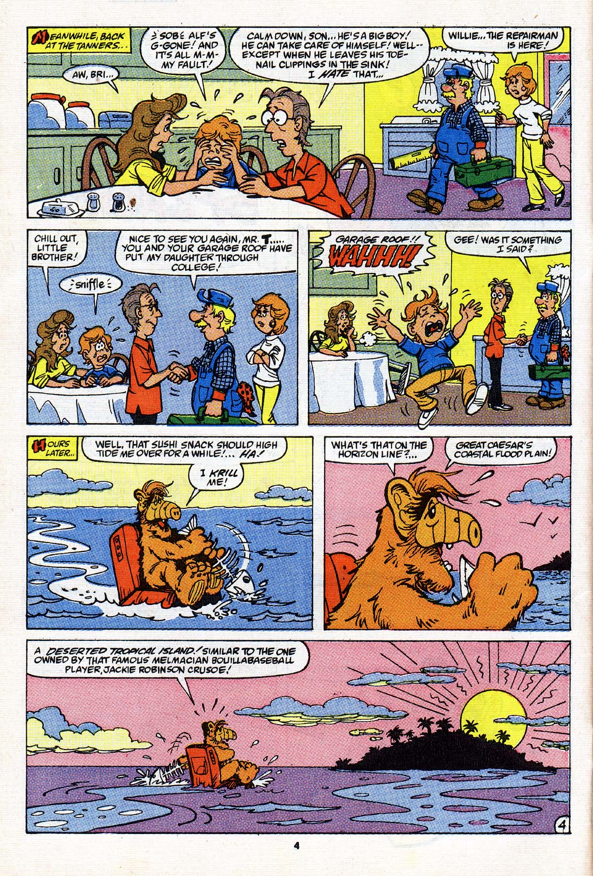 Read online ALF comic -  Issue #27 - 5