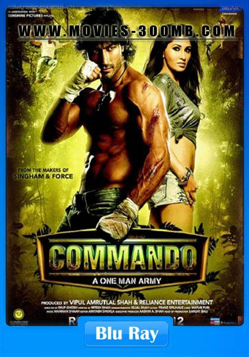 commando hindi movie 720p download