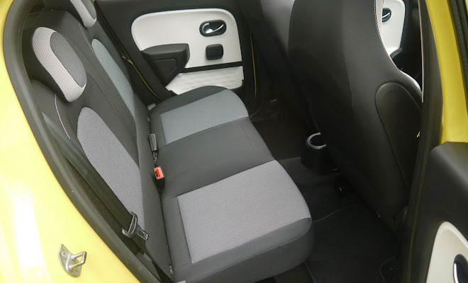 Renault Twingo rear seats