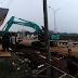 Pembangunan Jalan Lingkar Stadion Pakansari Digenjot Siang Malam