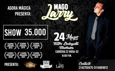 SHOW UNIPERSONAL DEL MAGO LARRY