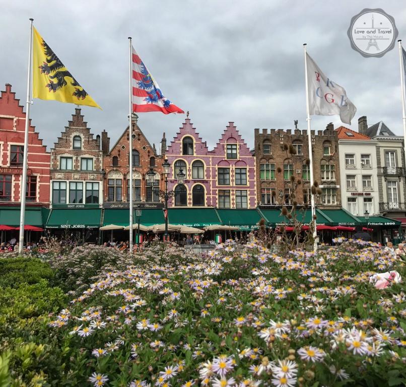 Grote Markt Bruges Bélgica