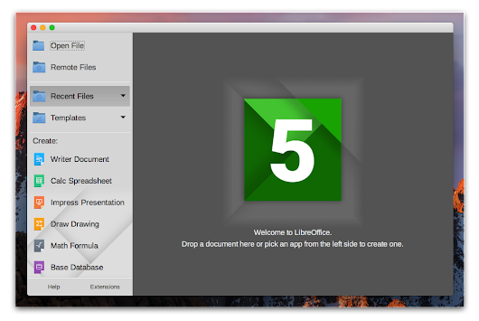 LibreOffice 5.4.0 For Mac