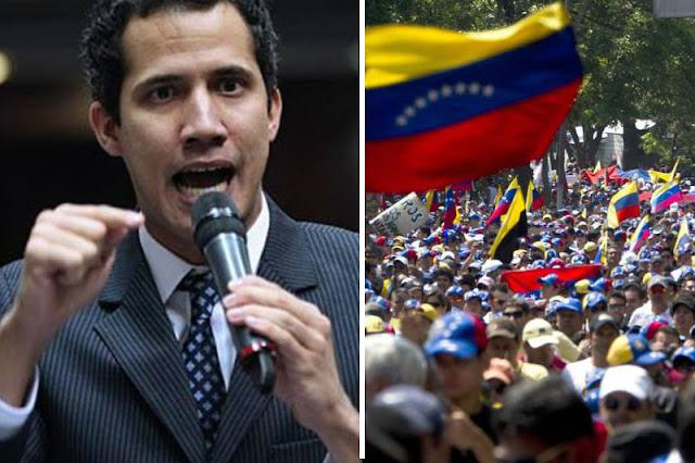 Guaidó podría convocar a una marcha hacia Miraflores