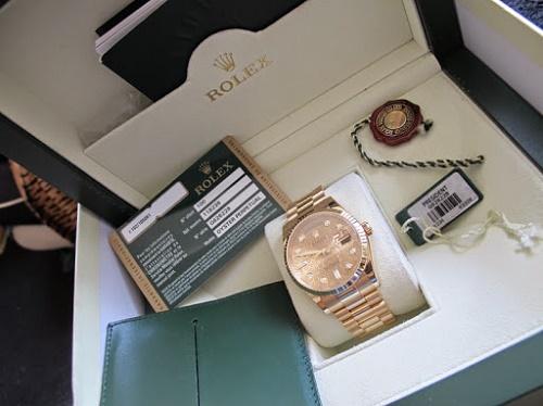 Thu mua đồng hồ rolex chính hãng date just – day date – Daytona