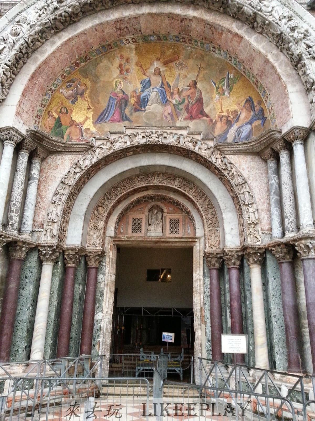 來去玩: 威尼斯核心景點—聖馬可大教堂(Basilica di San Marco)