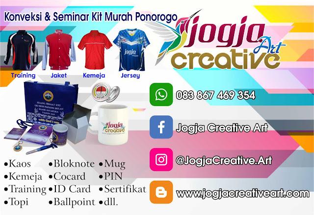 Paket Seminar Kit Murah dan Konveksi Kaos Ponorogo