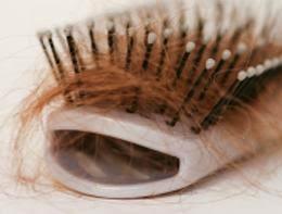 Caída del cabello. Pelo en el cepillo o peine