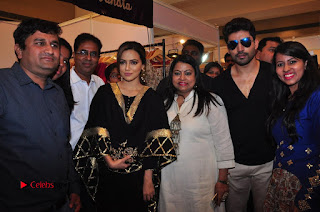 Bollywood Actress Sana Khan Launches Aakrithi Exibition  0341.JPG