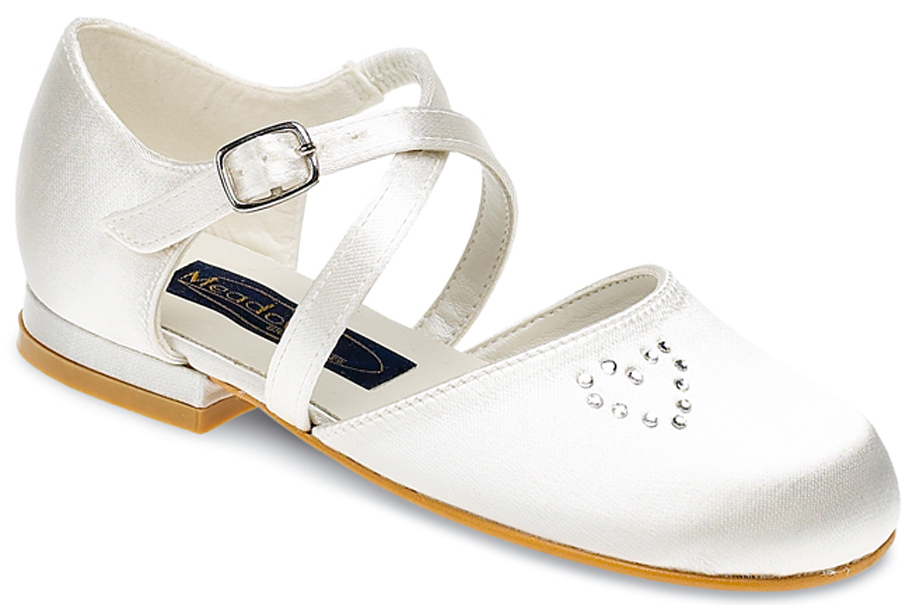 Junior Bridesmaid Shoes in Ivory