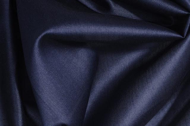 Charcoal Grey Cotton Silk Fabric