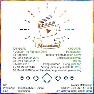 Lomba Video Moviestival Psychotaculer 2018 by UNESA
