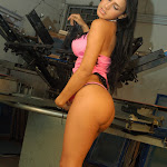 Andrea Rincon, Selena Spice Galeria 38 : Baby Doll Rosado, Tanga Rosada, Total Rosada Foto 50