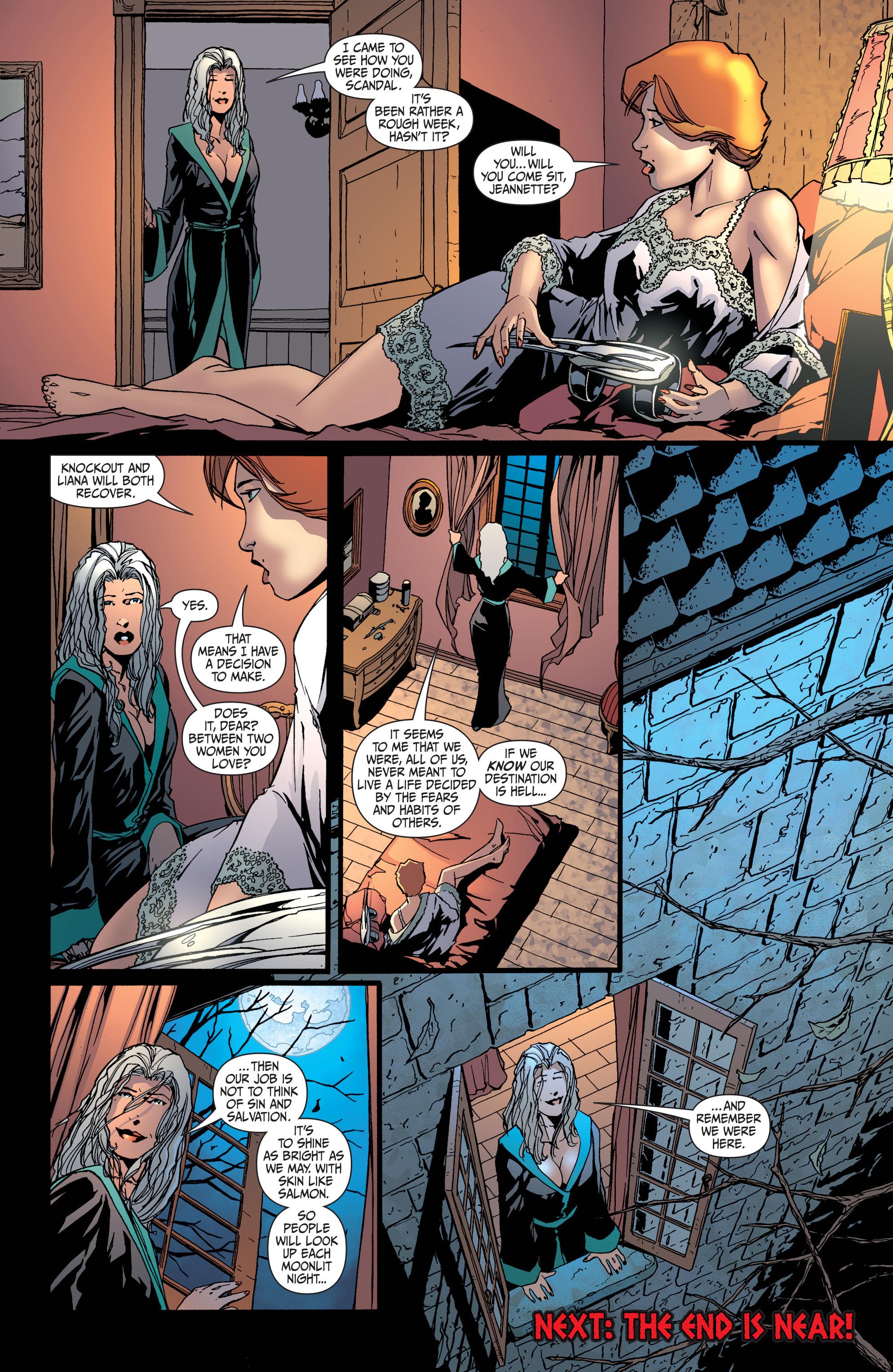 Read online Secret Six (2008) comic -  Issue #34 - 21