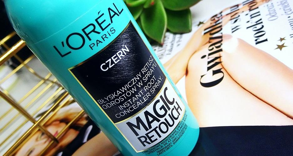 MAGIC RETOUCH - L'OREAL, retusz włosów, odrosty, siwizna