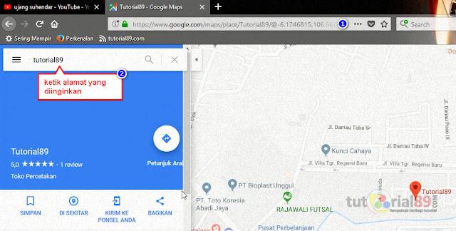 Cara membuat barcode lokasi google map di kartu undangan