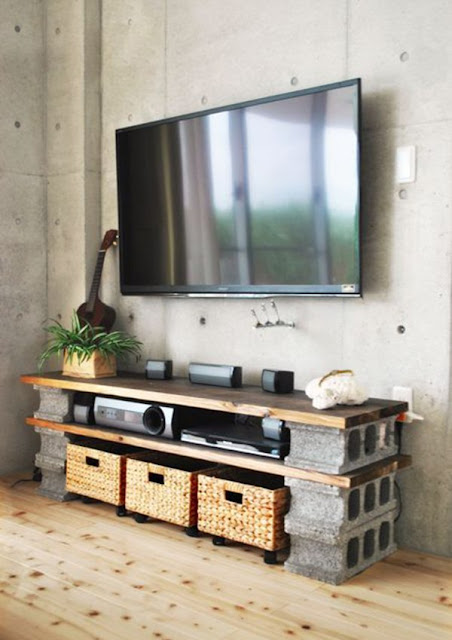 Decorate With Concrete Blocks 6