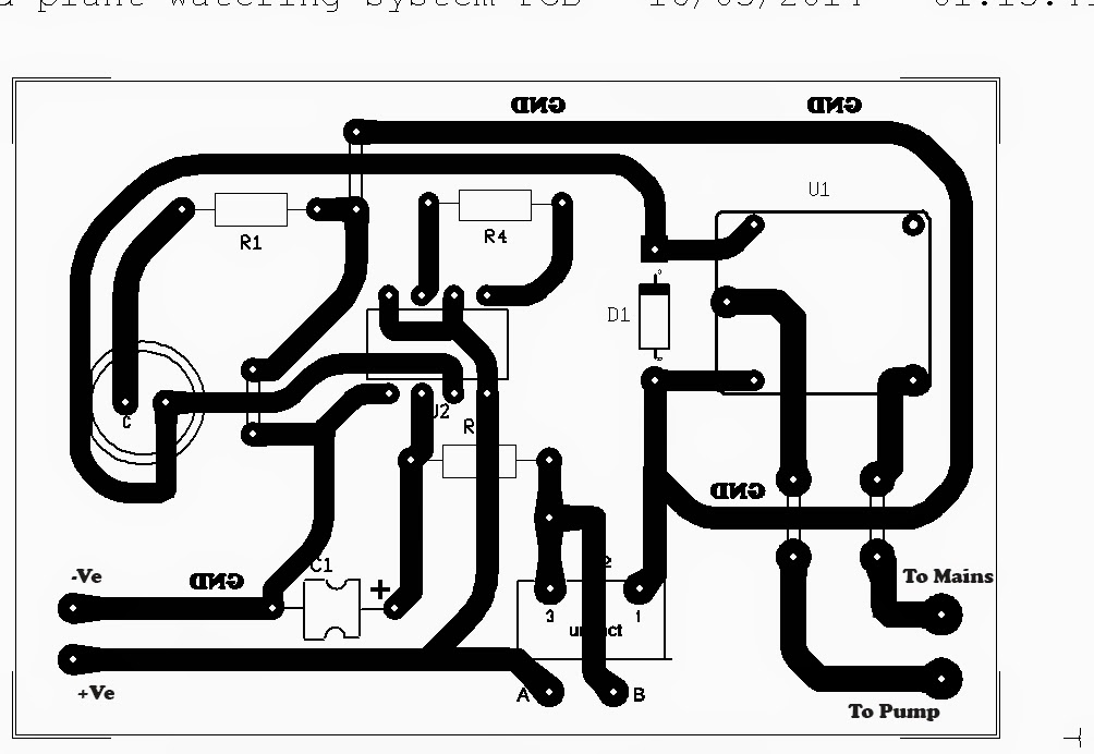 Simple Automatic Plant Watering Circuit ~ Electronic