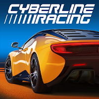 Cyberline Racing MOD APK+DATA
