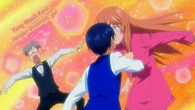 Soredemo Sekai wa Utsukushii - Romance school anime