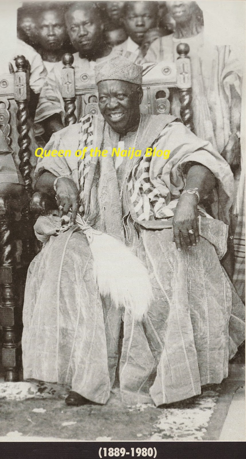 Oba Adesoji Aderemi the late ooni of ife