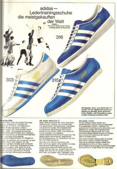German Adidas Catalogue 1968 Vintage Everyday